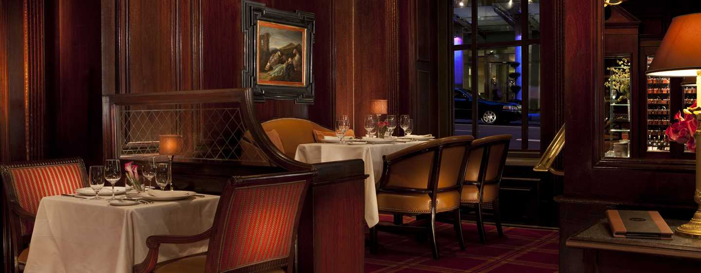 Waldorf Astoria New York Hotel, New York, USA – Bull and Bear Prime Steakhouse