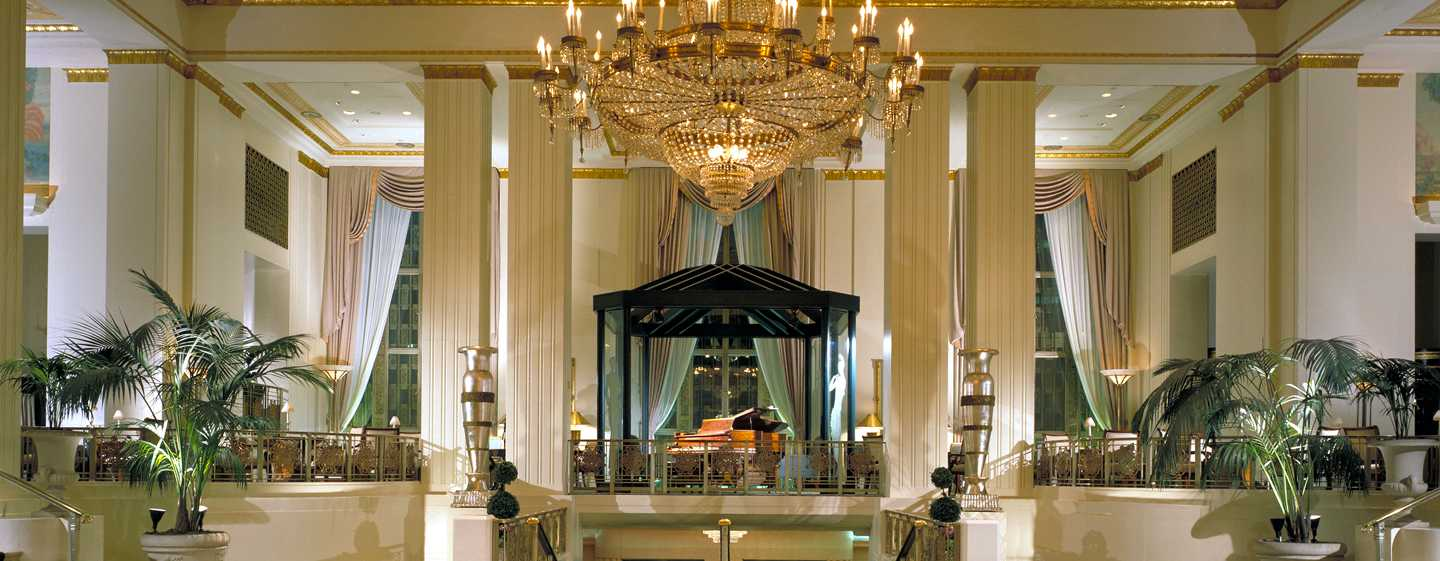 Waldorf Astoria New York Hotel, New York, USA – Lobby