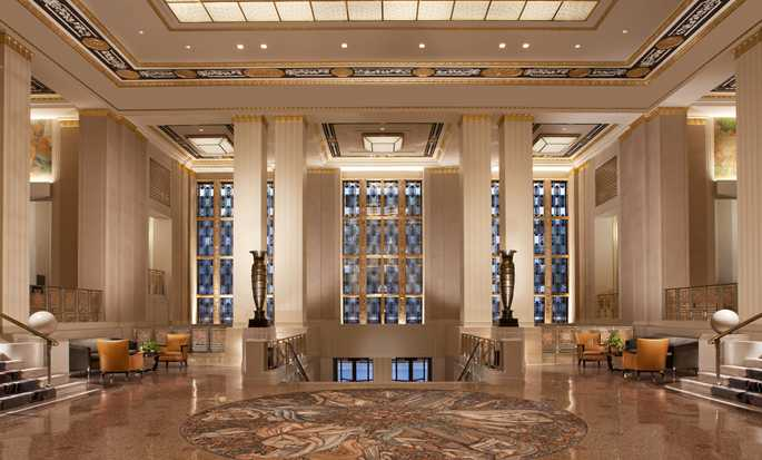 Hôtel Waldorf Astoria New York, États-Unis - Hall