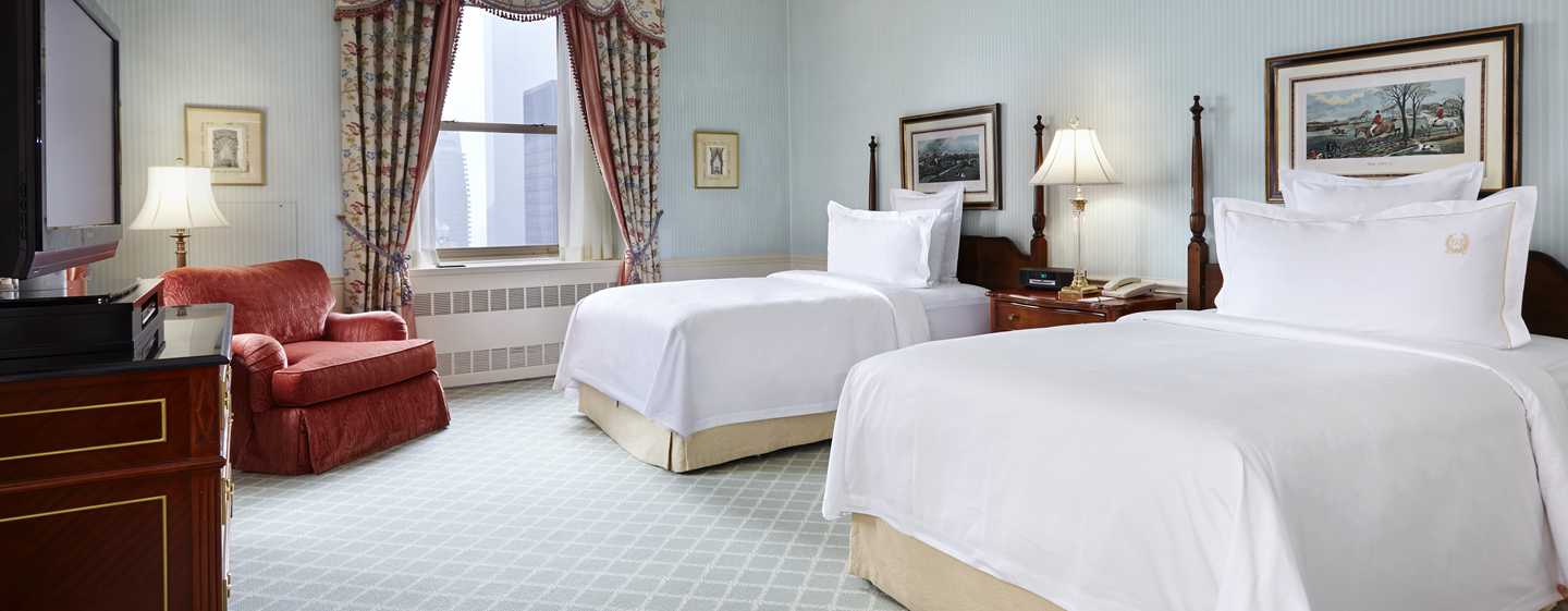 The Towers of the Waldorf Astoria, New York, USA – Schlafzimmer des Towers Residential Apartment