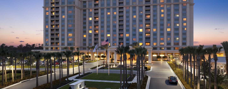 Hotel Waldorf Astoria Orlando, Florida, EUA – Exterior do hotel