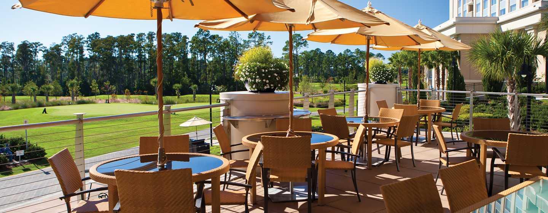 Hôtel Waldorf Astoria Orlando, Floride, États-Unis - Patio extérieur