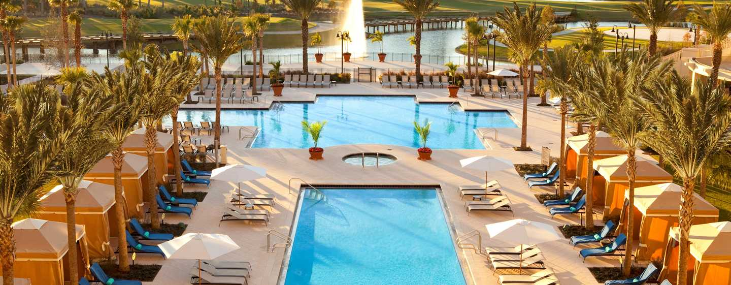 Hotel Waldorf Astoria Orlando, Florida, EUA – Piscina do resort