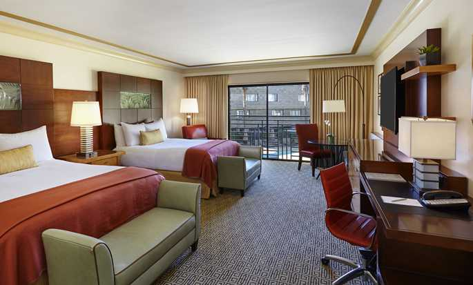 Arizona Biltmore, a Waldorf Astoria Resort Hotel, USA – Doppelzimmer mit Queen-Size-Bett