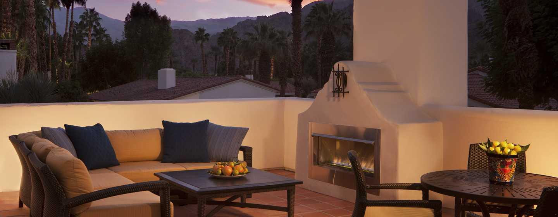 Hôtel La Quinta Resort & Club, A Waldorf Astoria Resort, Californie - Patio d'une casita Starlight