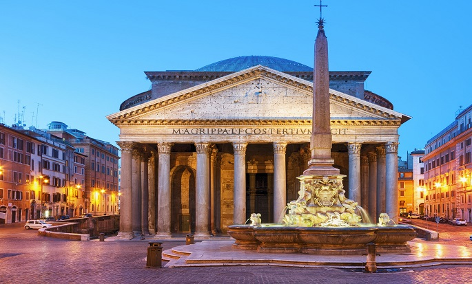 Rome Cavalieri, Waldorf Astoria Hotels and Resorts, Italien - Pantheon