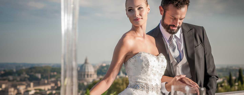 Hôtel Rome Cavalieri, Rome Cavalieri, A Waldorf Astoria Resort, Italie - Jeunes mariés