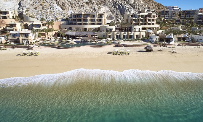 Waldorf Astoria Los Cabos Pedregal - Vista aérea del resort