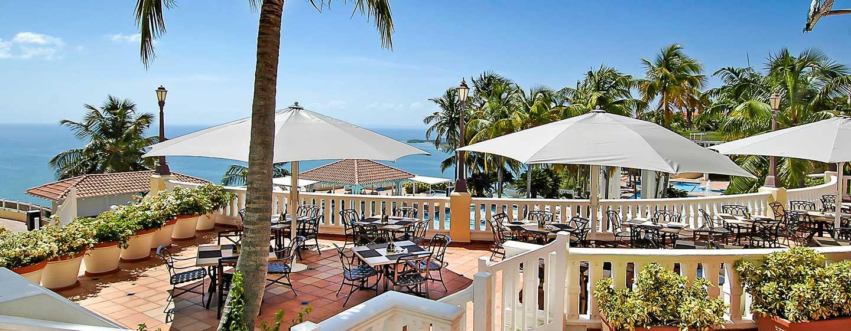 Hôtel El Conquistador, A Waldorf Astoria Resort, Porto Rico - Café Bella Vista