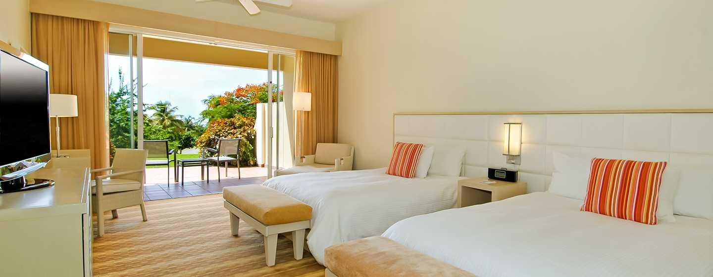 El Conquistador, A Waldorf Astoria Resort, Porto Rico – Quarto Double com vista para o jardim