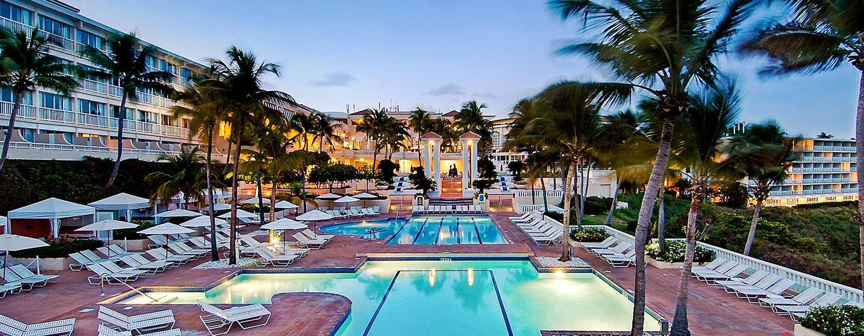 El Conquistador, A Waldorf Astoria Resort, Porto Rico – Piscina ao ar livre