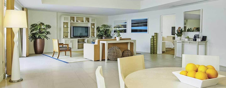 Hôtel El Conquistador, A Waldorf Astoria Resort, Porto Rico - Salle de séjour d'une suite