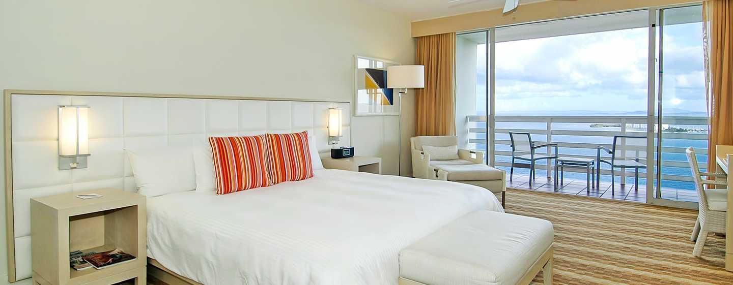 El Conquistador, A Waldorf Astoria Resort, Puerto Rico – Suíte com vista para o mar