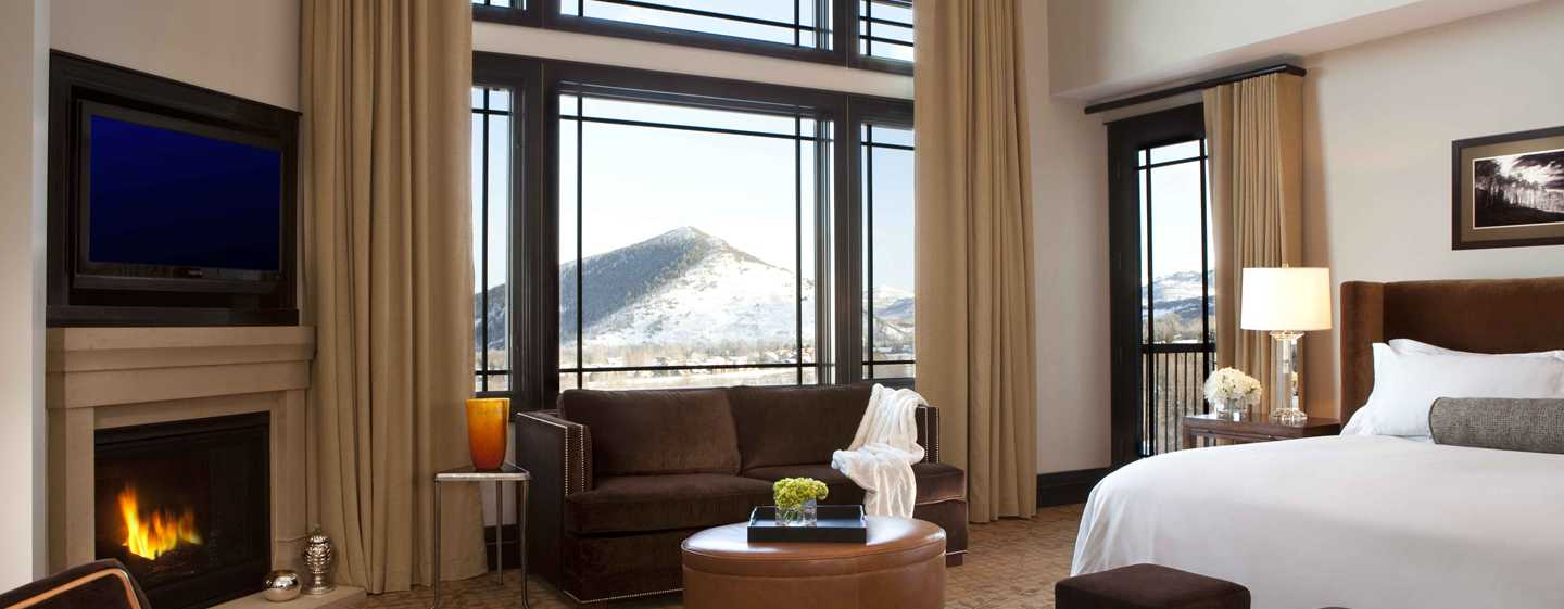 Waldorf Astoria Park City, Utah, EUA – Quarto