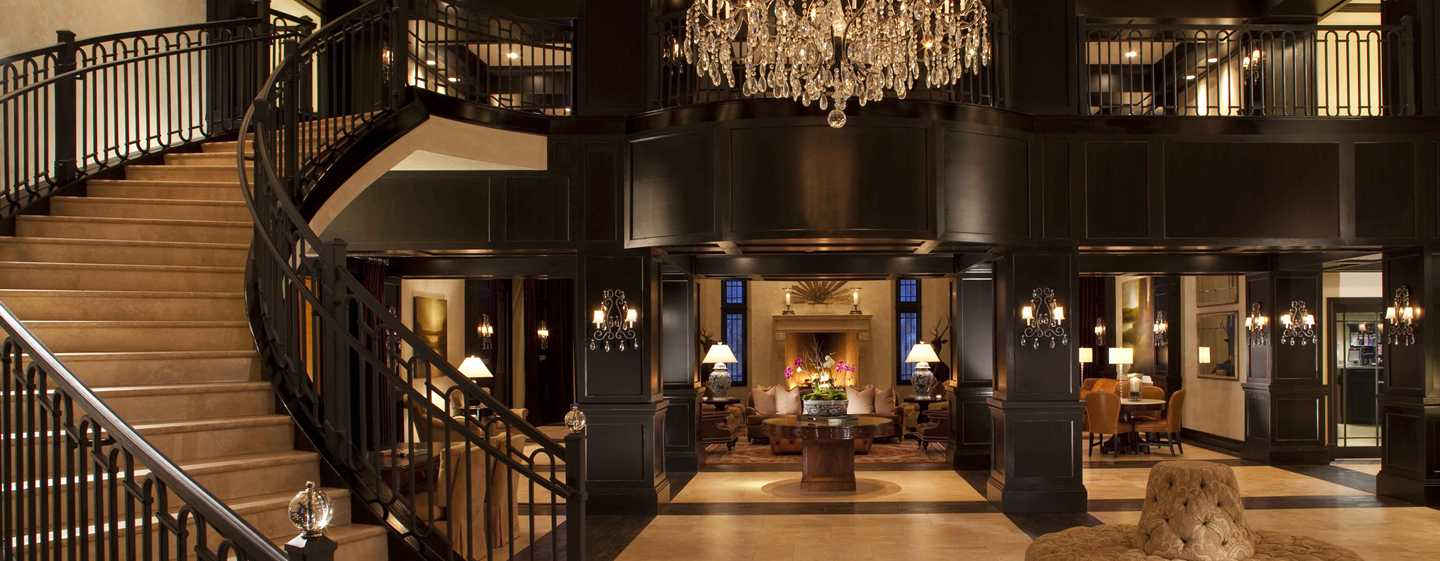 Waldorf Astoria Park City, Utah, EUA – Lobby do hotel