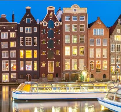 Dîner sur l'eau: Hilton Amsterdam Airport Schiphol
