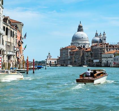 Balade à la découverte du Grand Canal: Hilton Molino Stucky Venice