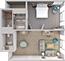 Vea los planos de habitaciones en 3D