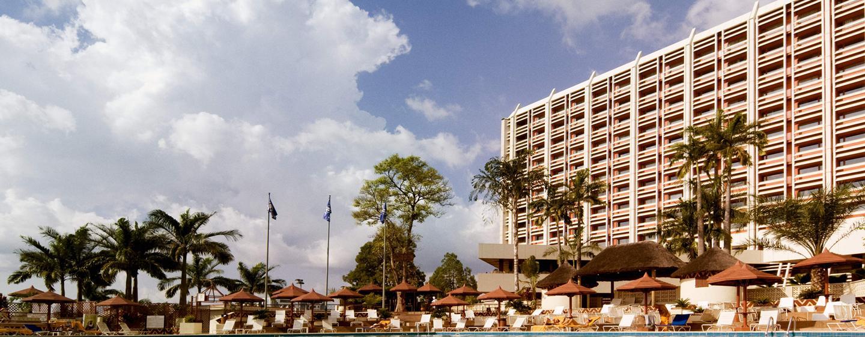 Herzlich willkommen im schönen Hotel in Nigerias Hauptstadt Abuja