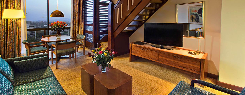 Hilton Addis Ababa, Äthiopien– Executive Duplex Zimmer mit King-Size-Bett