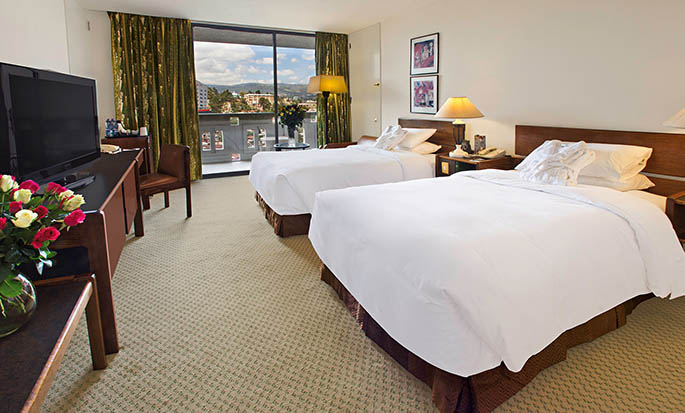 Hilton Addis Ababa, Äthiopien– Doppelzimmer