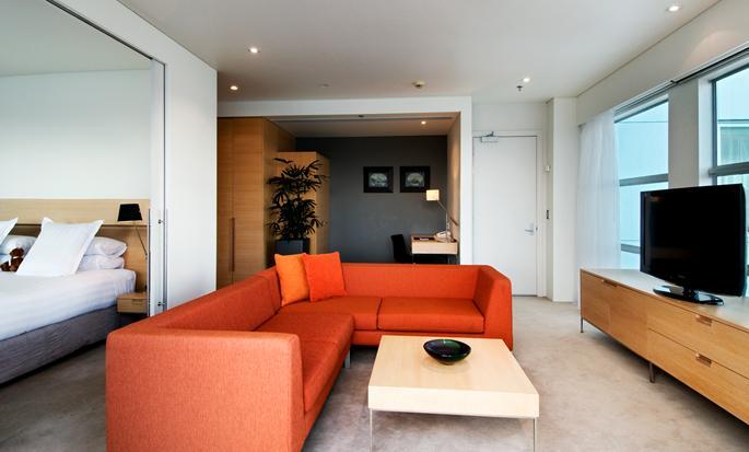 Hilton Auckland - Suite Livingarea