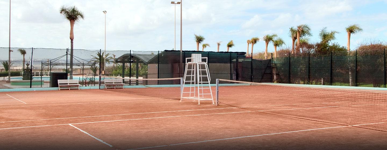 Hôtel Hilton Alger, Algérie - Court de tennis sur place