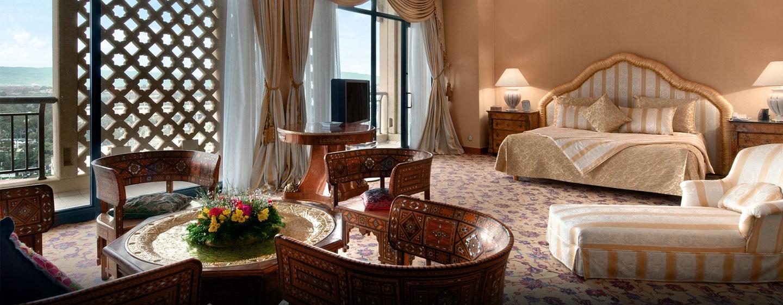 Hôtel Hilton Alger, Algérie - Suite présidentielle avec très grand lit