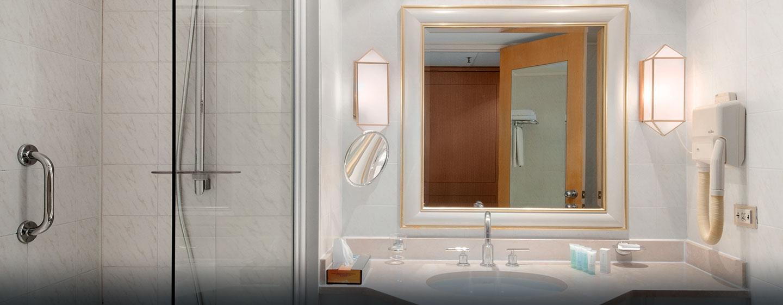 Hôtel Hilton Alger, Algérie - Salle de bains d'une chambre