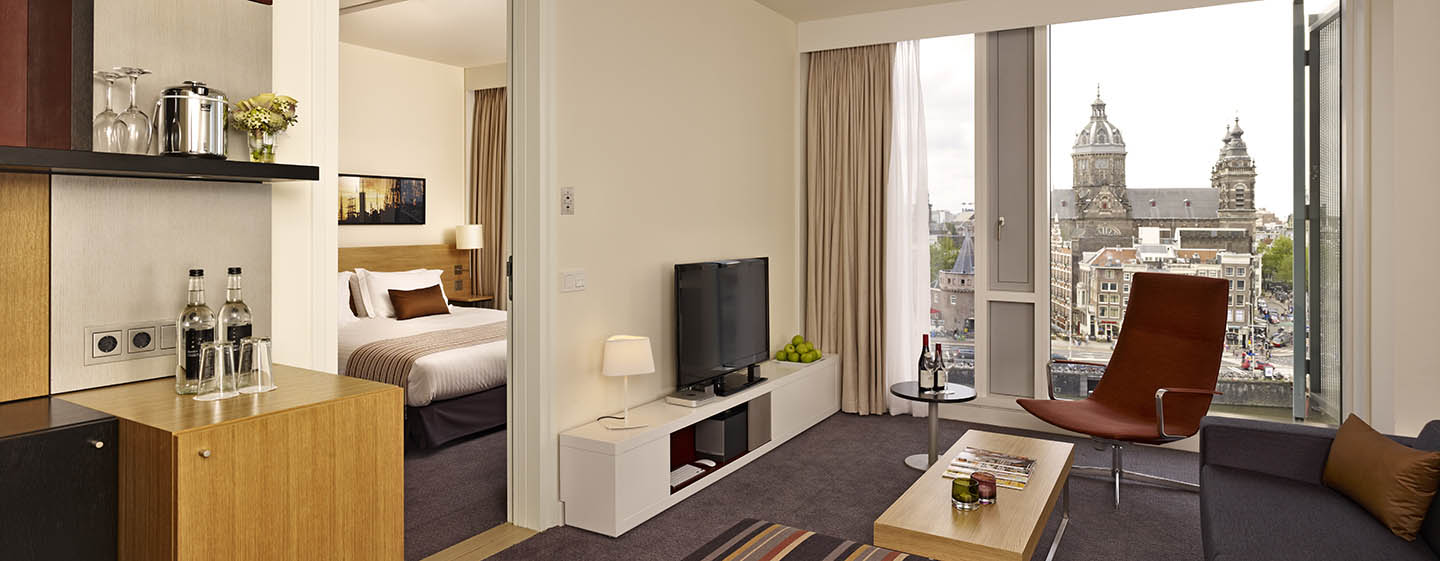 DoubleTree by Hilton Hotel Amsterdam Centraal Station, Pays-Bas - Suite avec vue