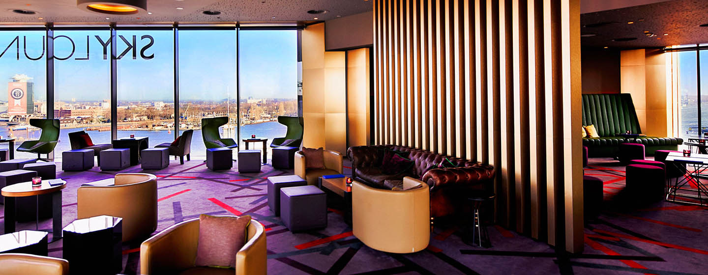 DoubleTree by Hilton Hotel Amsterdam Centraal Station, Pays-Bas - Intérieur du Skylounge