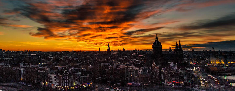 DoubleTree by Hilton Hotel Amsterdam Centraal Station, Pays-Bas - Vue sur la ville