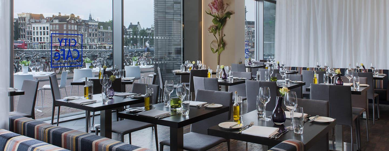 DoubleTree by Hilton Hotel Amsterdam Centraal Station, Pays-Bas - Restaurant City Café