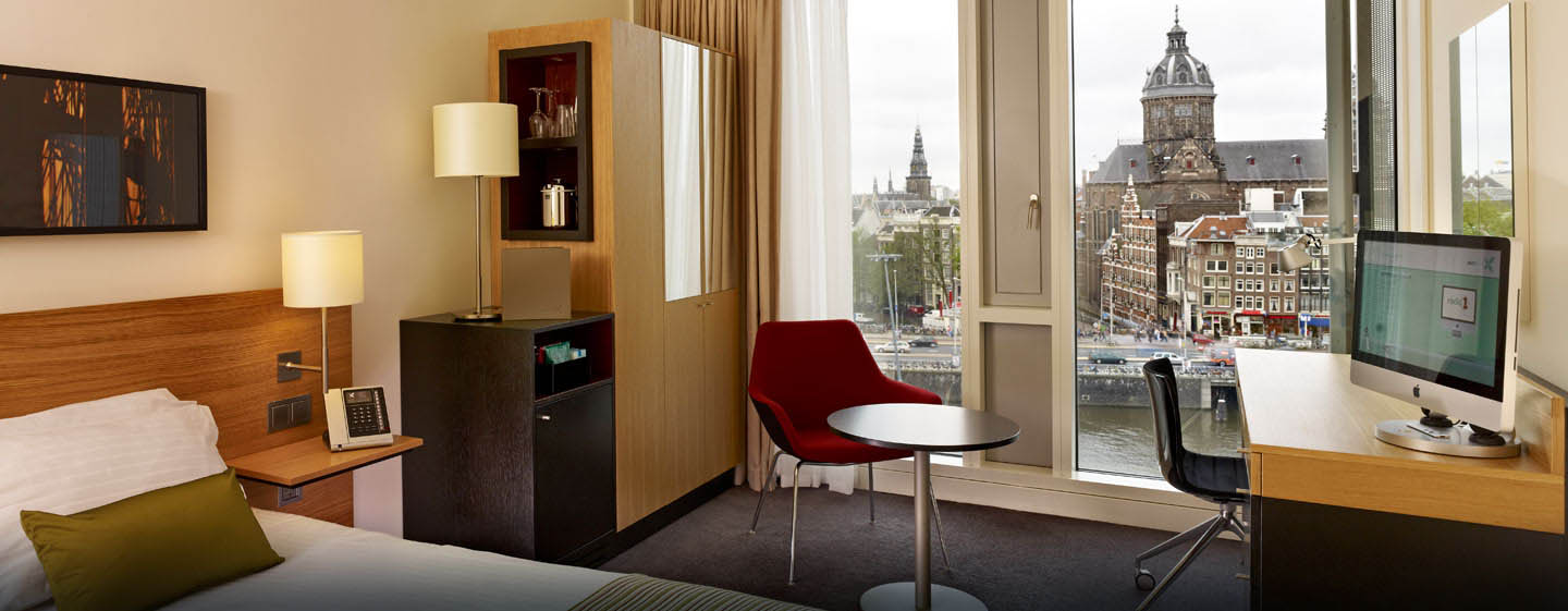 DoubleTree by Hilton Hotel Amsterdam Centraal Station, Pay-Bas - Chambre avec grand lit