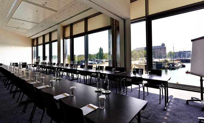 DoubleTree by Hilton Hotel Amsterdam Centraal Station - Salle de réunion Glasgow