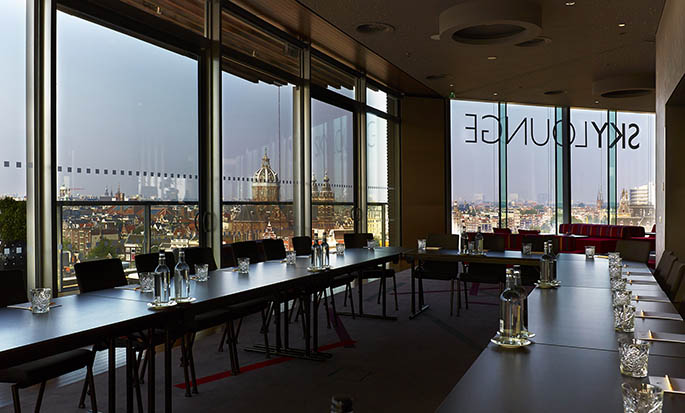 DoubleTree by Hilton Hotel Amsterdam Centraal Station - Skylounge South