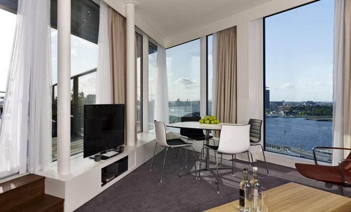 Hôtel DoubleTree by Hilton Hotel Amsterdam Centraal Station - Chambre