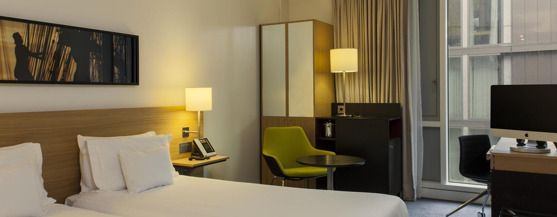 DoubleTree by Hilton Hotel Amsterdam Centraal Station, Paesi Bassi - Camera Hilton con letti separati