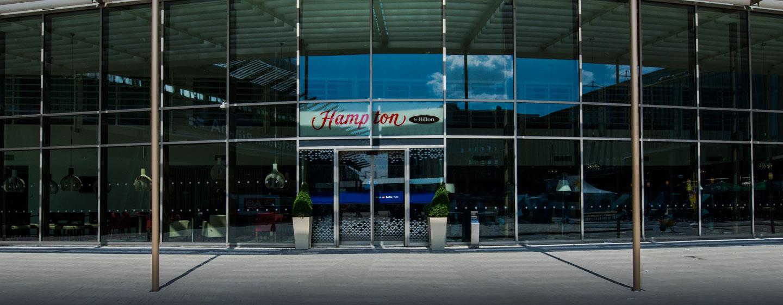 H tel hampton by hilton amsterdam arena boulevard for Boulevard exterieur