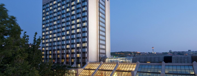 Ankara HiltonSA - Außenansicht
