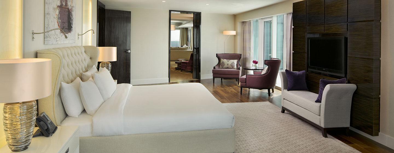 Hotel Hilton Capital Grand Abu Dhabi, EAU - Suite Presidenziale con una camera da letto