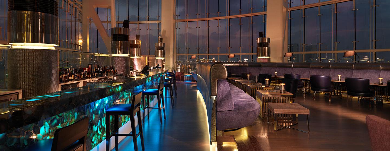 Hotel Hilton Capital Grand Abu Dhabi, EAU - Bar Blue