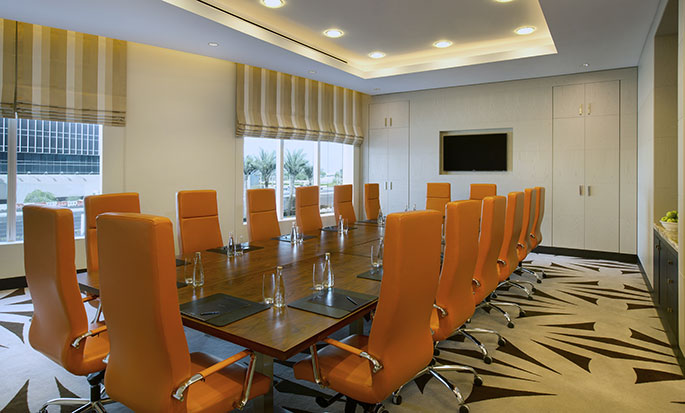 Hotel Hilton Capital Grand Abu Dhabi, EAU - Sala per assemblee