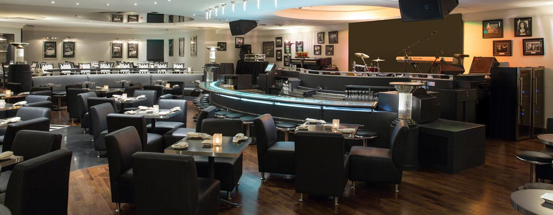 Hôtel Hilton Abu Dhabi, EAU - Bar et restaurant Jazz