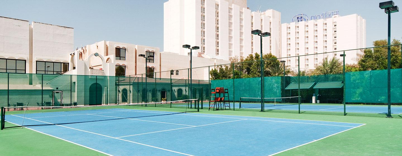 Hôtel Hilton Abu Dhabi, EAU - Court de tennis