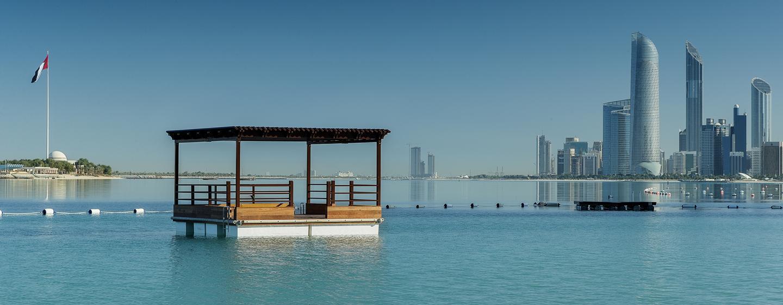 Hôtel Hilton Abu Dhabi, EAU - Vue sur la ville
