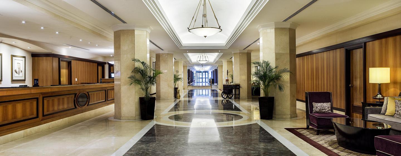 Hôtel Hilton Abu Dhabi, EAU - Hall de l'hôtel