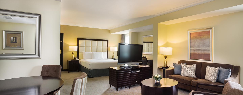 Hôtel Hilton Abu Dhabi, EAU - Suite junior