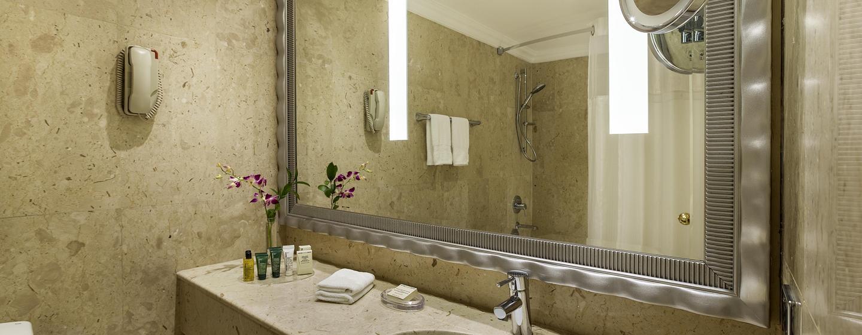 Hôtel Hilton Abu Dhabi, EAU - Salle de bains