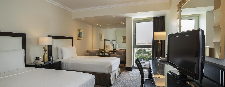 Hôtel Hilton Abu Dhabi, EAU - Chambre avec lits jumeaux
